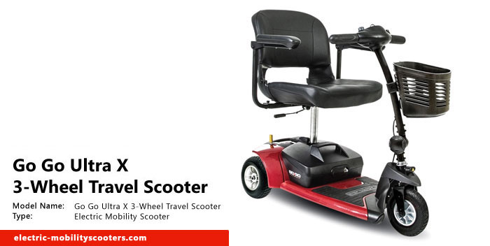 Go Go Ultra X 3 Wheel Travel Scooter Review