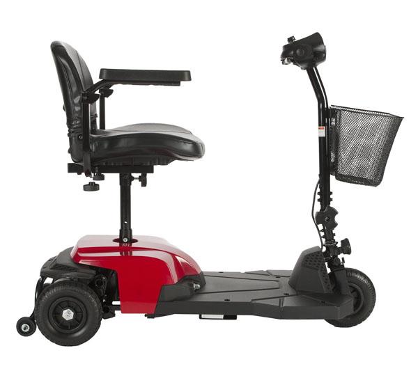 drive medical red bobcat x3 3 wheel compact transportable. Black Bedroom Furniture Sets. Home Design Ideas