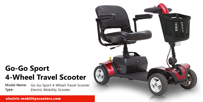 Go-Go Sport 4-wheel Electric Travel Scooter Review