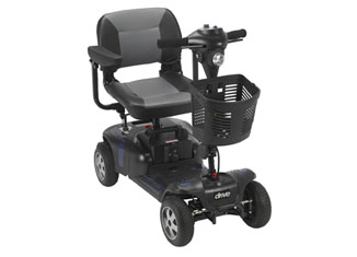 Drive Medical Phoenix 4 Wheel Heavy Duty Scooter Review