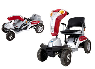 Hummer XL Folding 4-Wheel Electric Mobility Scooter Tzora Titan 4 Review