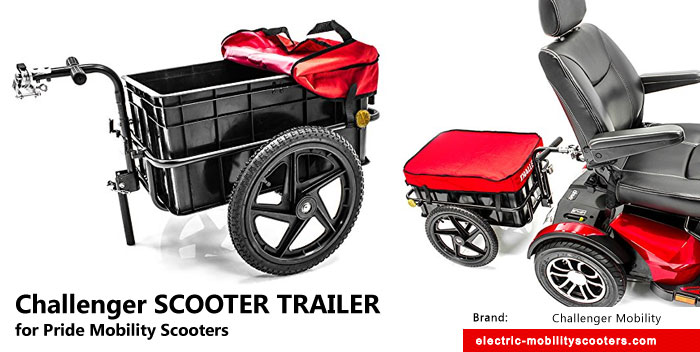 Cool Finds: Challenger SCOOTER TRAILER for Pride Mobility Scooters